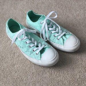 Converse eyelet sneakers